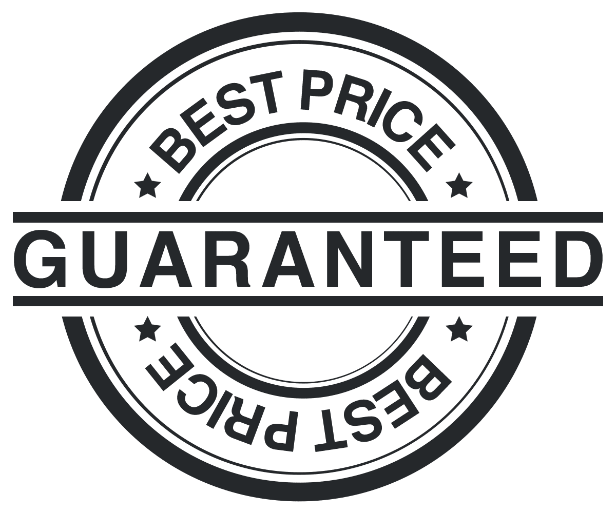Lowest Price guarantee stamp